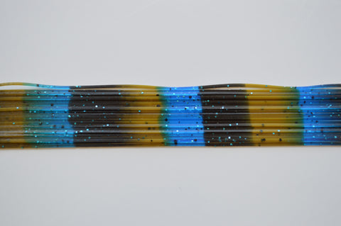 Black with Blue flake/Olive Pumpkin with Black stripes/Blue, Blue, Black stripes-S8