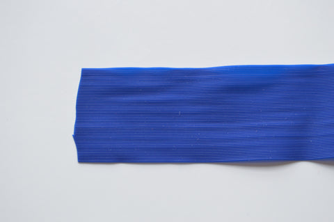 Blue Fine Grade Living Rubber-Blue