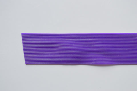 Purple Fine Grade Living Rubber-Purple