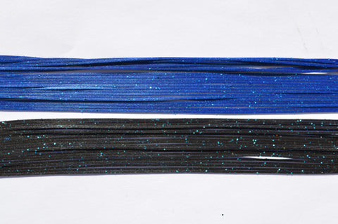 Black with Blue flake on 1 side, Metallic Blue with Blue flake on the other side-LM1