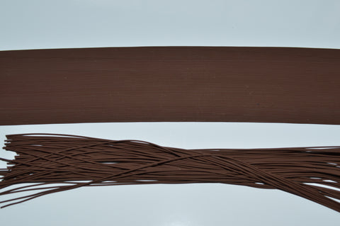 Brown Fine Grade Living Rubber-Brown
