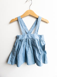 Chambray Blue Pinafore