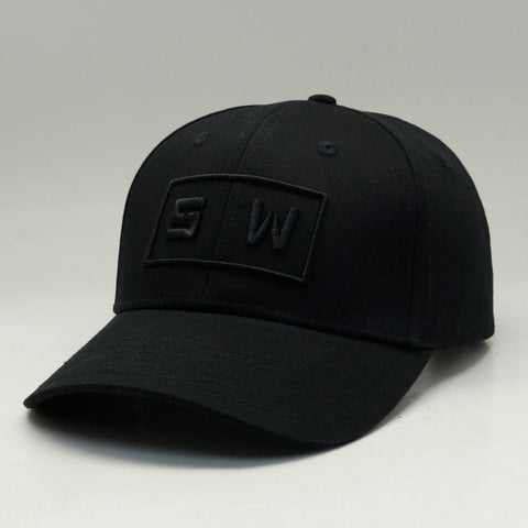 Box A-Frame Cap - Black