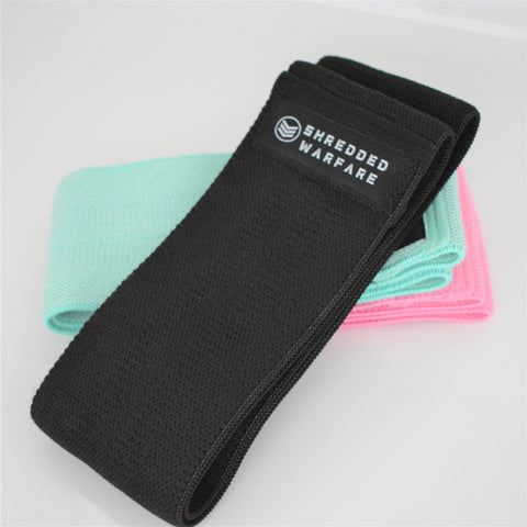 SW Fabric Resistance Bands - Black (Heavy)