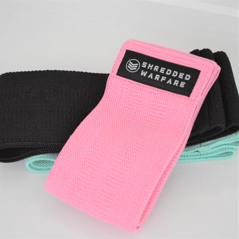 SW Fabric Resistance Band - Pink (Light)