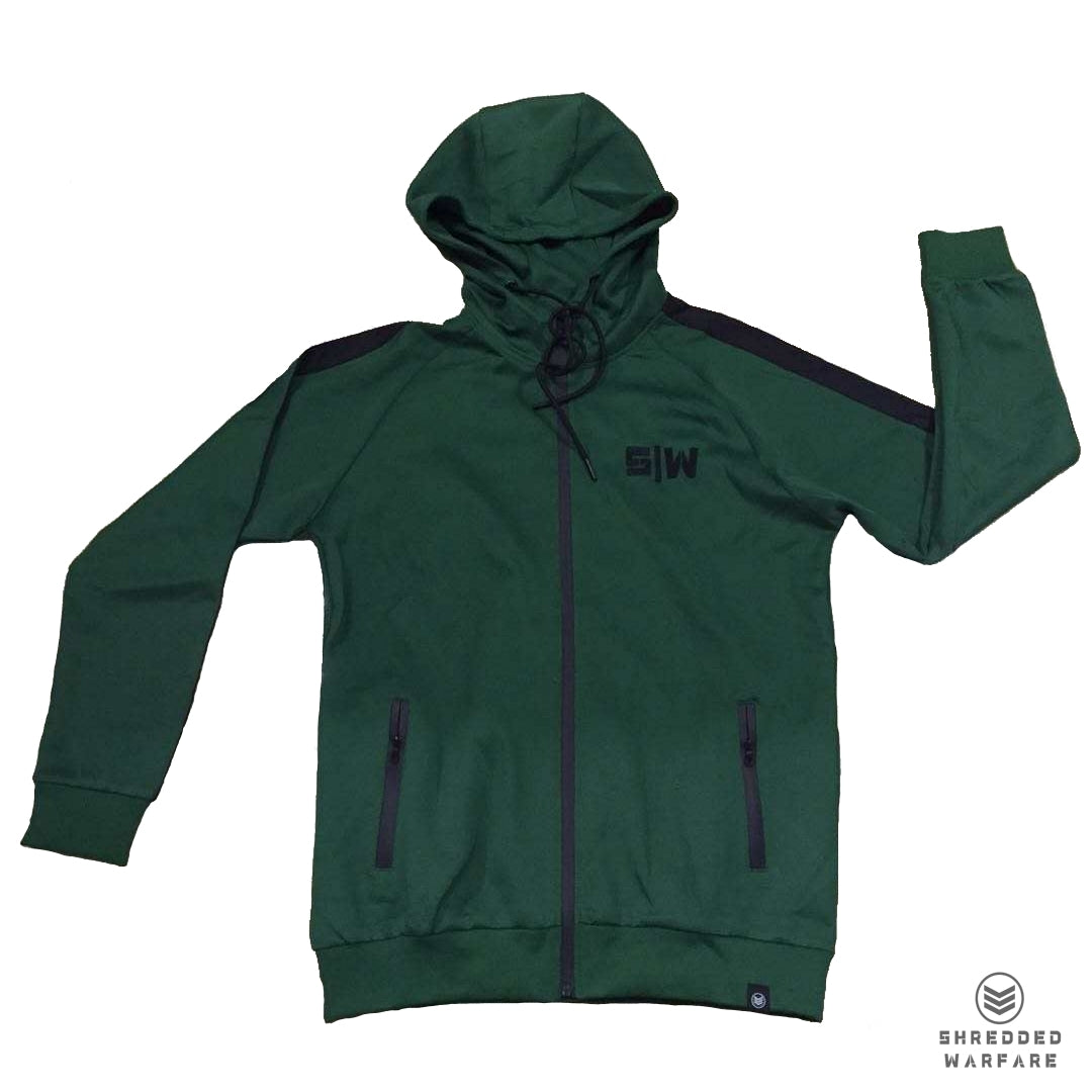 OG Zipper Tracksuit Top - Green