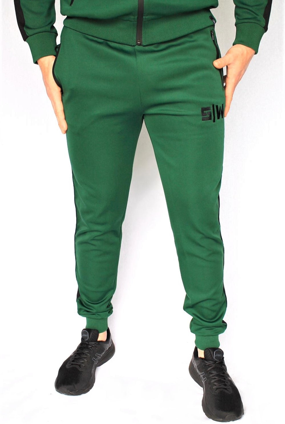 OG Zipper Tracksuit Pants - Green