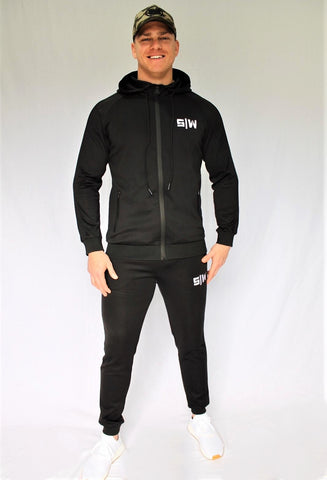 OG Zipper Tracksuit Set - Black