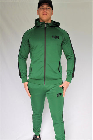 OG Zipper Tracksuit Set - Green