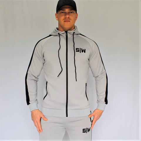 OG Zipper Tracksuit Set - Grey
