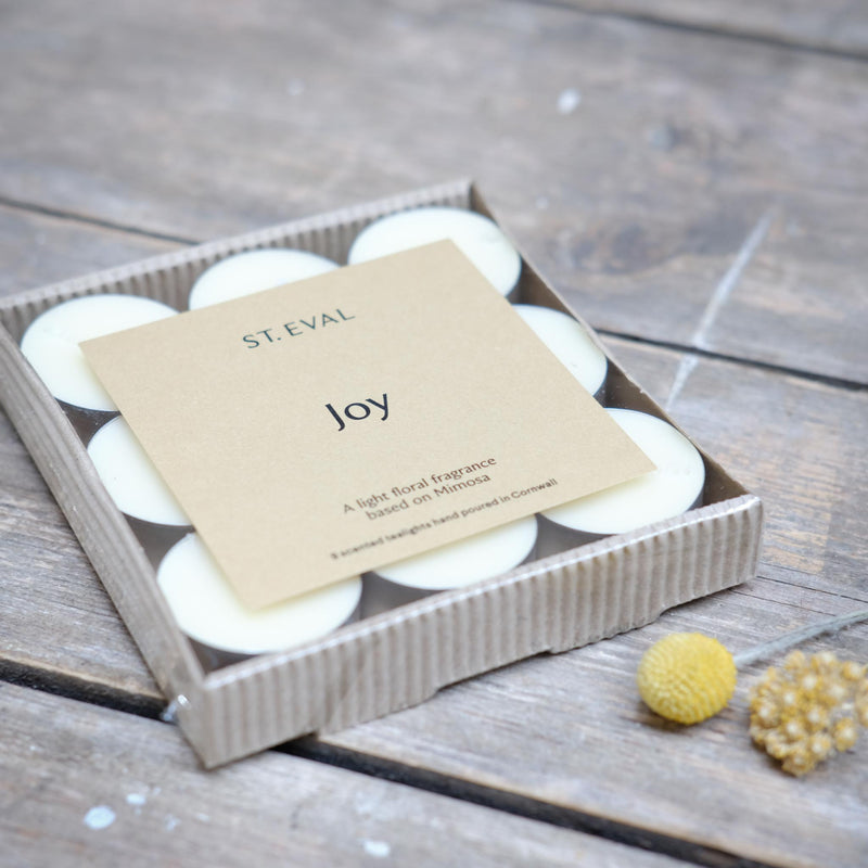 Snape Maltings Joy Scented Set of 9 Tealights