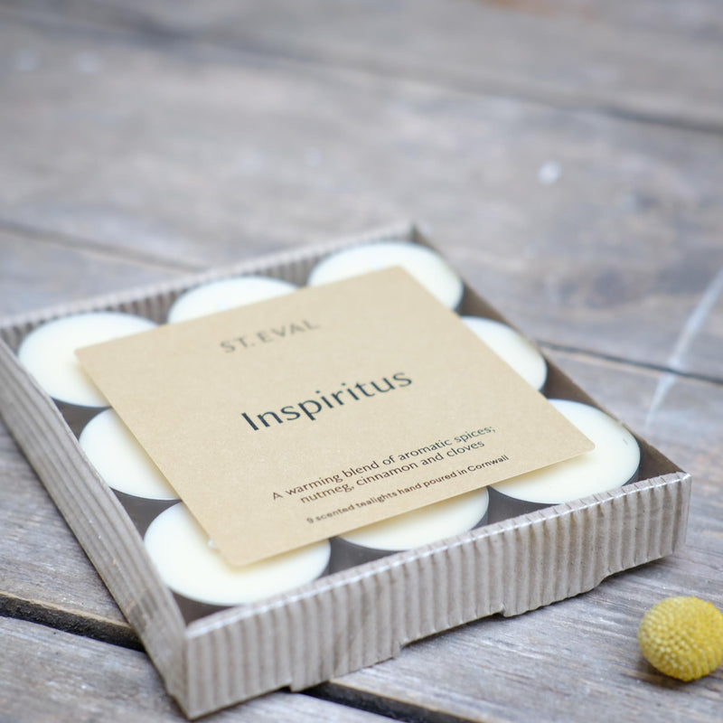 Snape Maltings Inspiritus Scented Set of 9 Tealights
