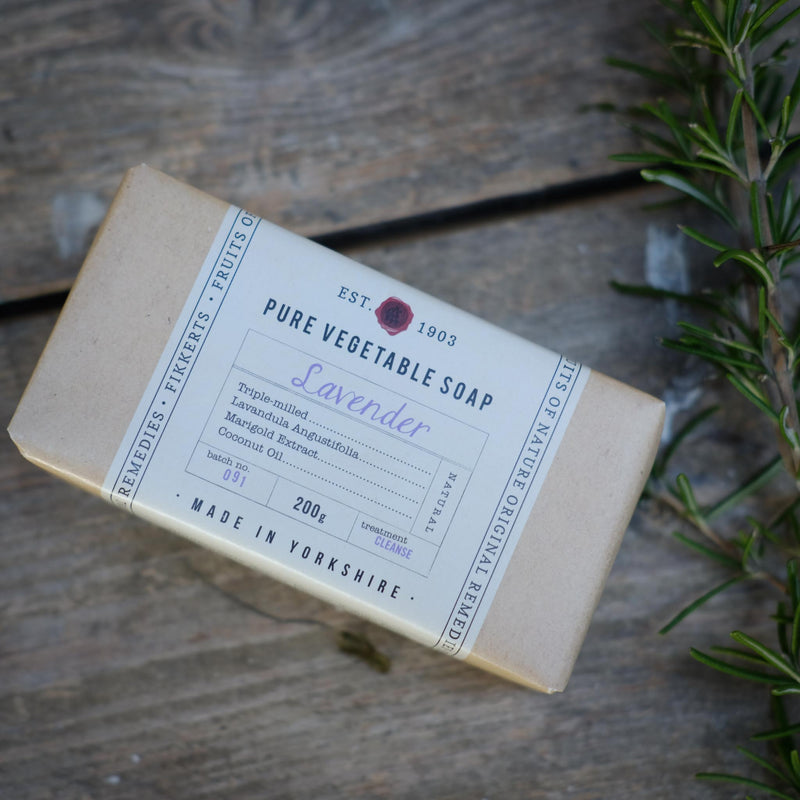 Snape Maltings Fruits Of Nature Lavender Wrapped Soap
