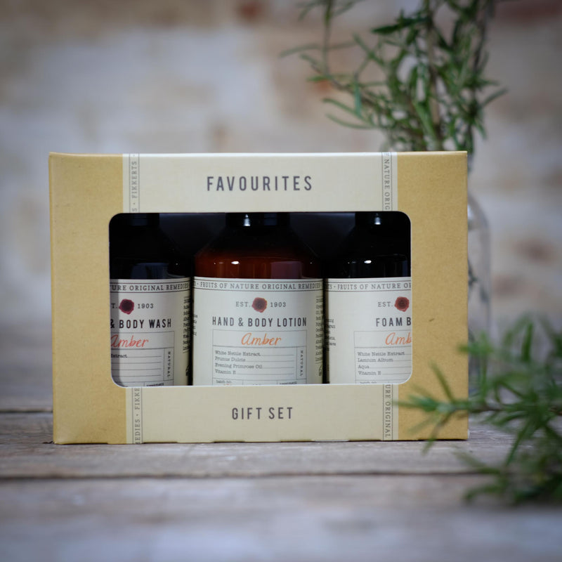 Snape Maltings Fruits Of Nature Amber Favourites Gift Set