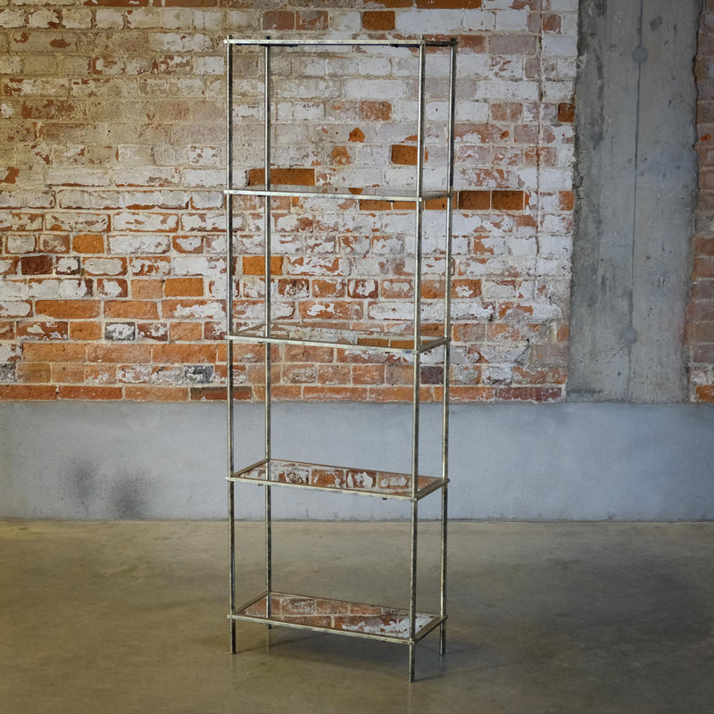 Snape Maltings Mirrored 5 Shelving Unit