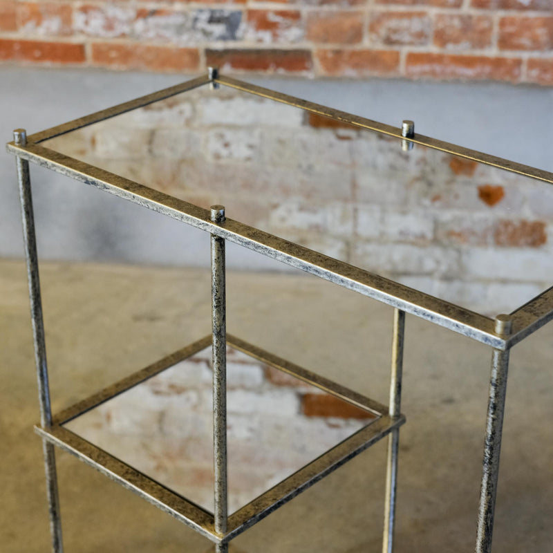 Snape Maltings Mirrored 3 Shelving Unit