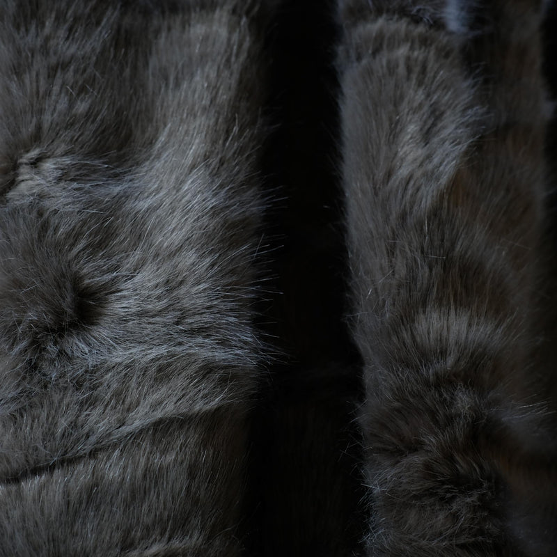 Snape Maltings Faux Wild Mink Throw
