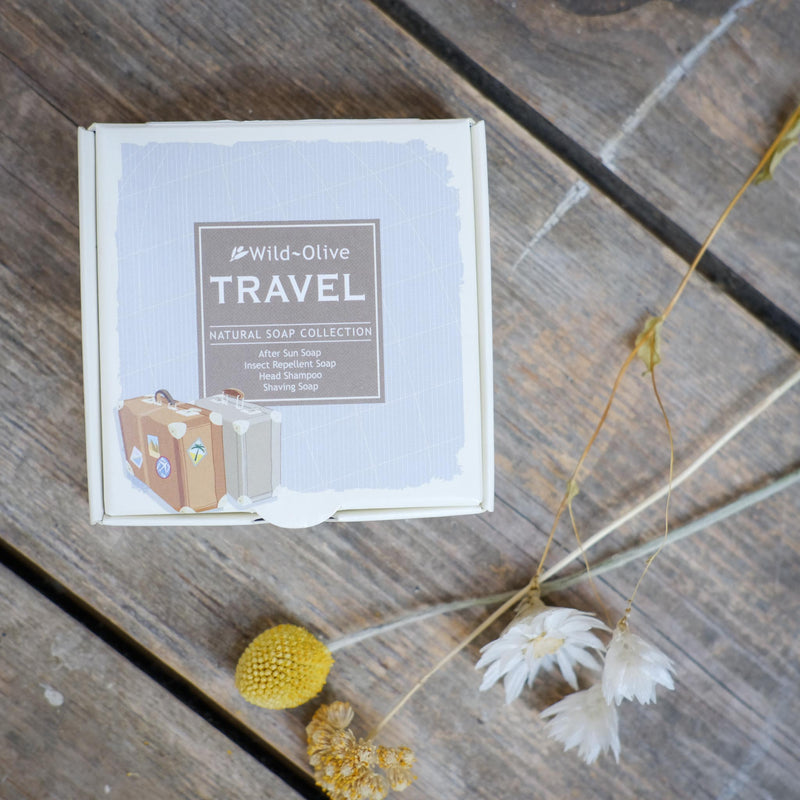 Snape Maltings Travel 4 Piece Soap Gift Set
