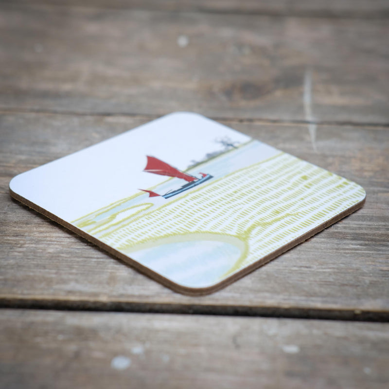 Snape Maltings Collection Landscape Design Coaster