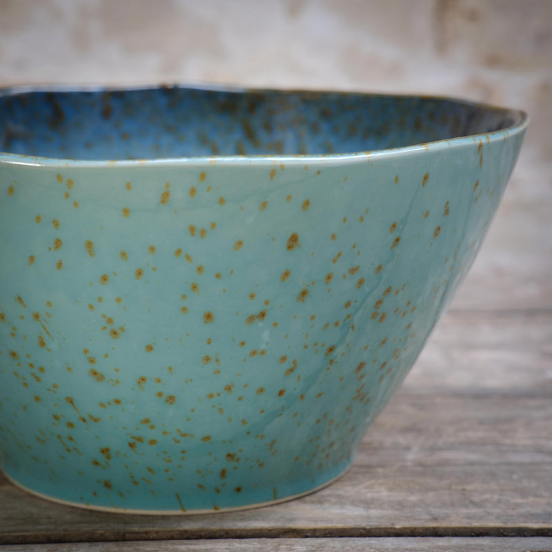 Snape Maltings Sea Spray Aqua Large Bowl