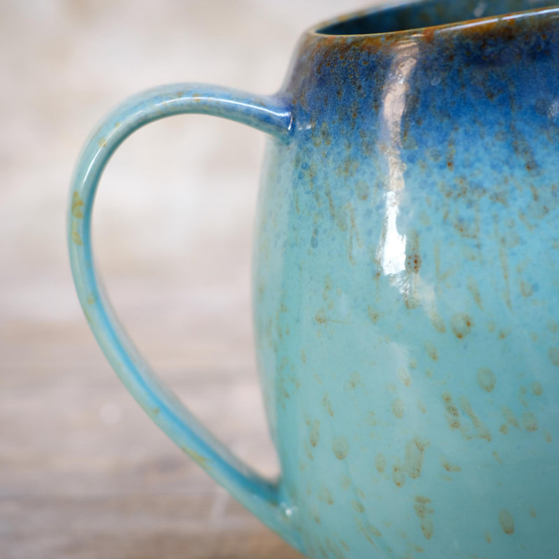 Snape Maltings Sea Spray Aqua Medium Pitcher