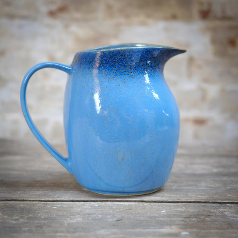 Snape Maltings Sea Spray Azure Medium Pitcher