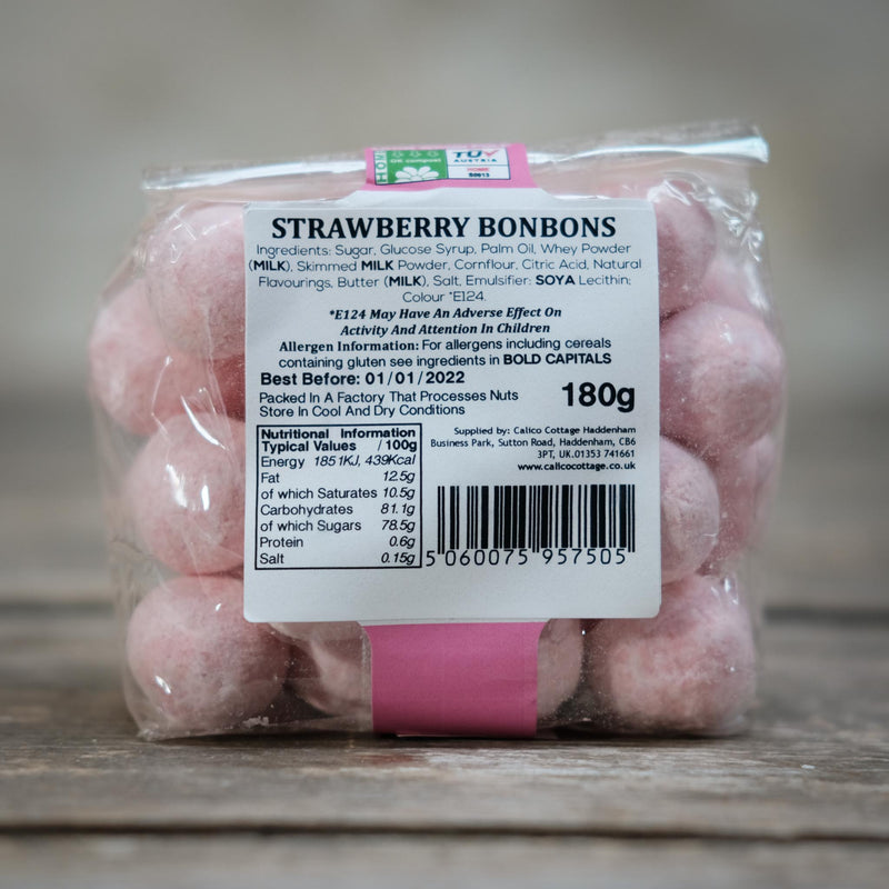 The Snape Maltings Collection Strawberry Bon Bons