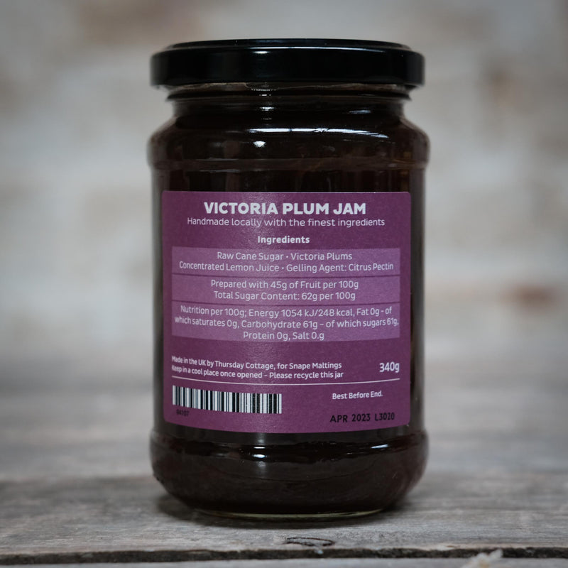 The Snape Maltings Collection Victoria Plum Jam