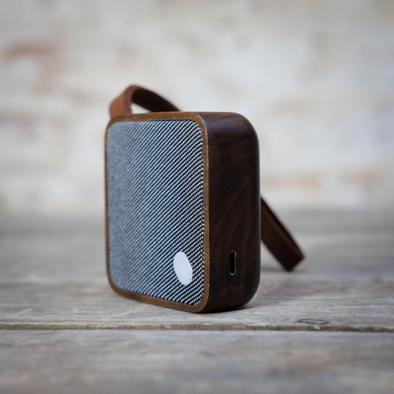 Snape Maltings My Square Pocket Speaker in Walnut