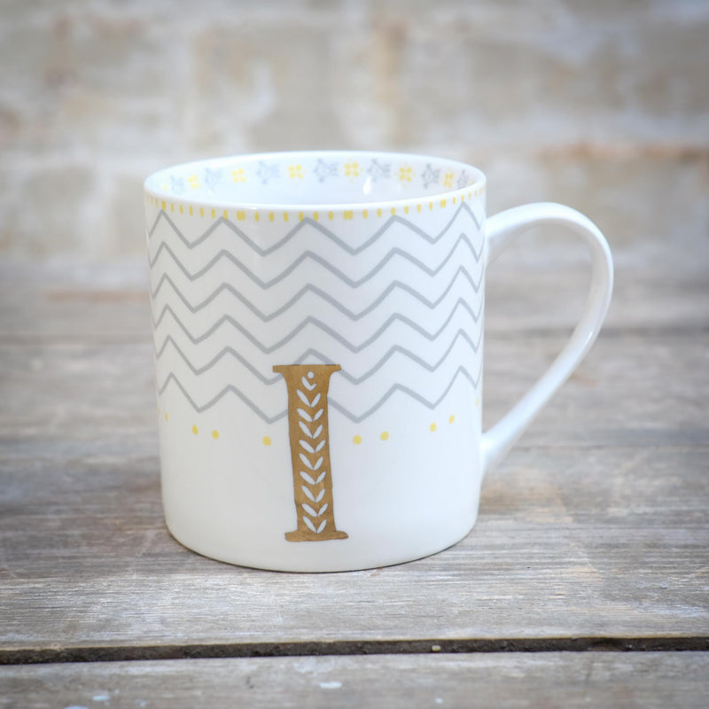 Snape Maltings Alphabet Mug I