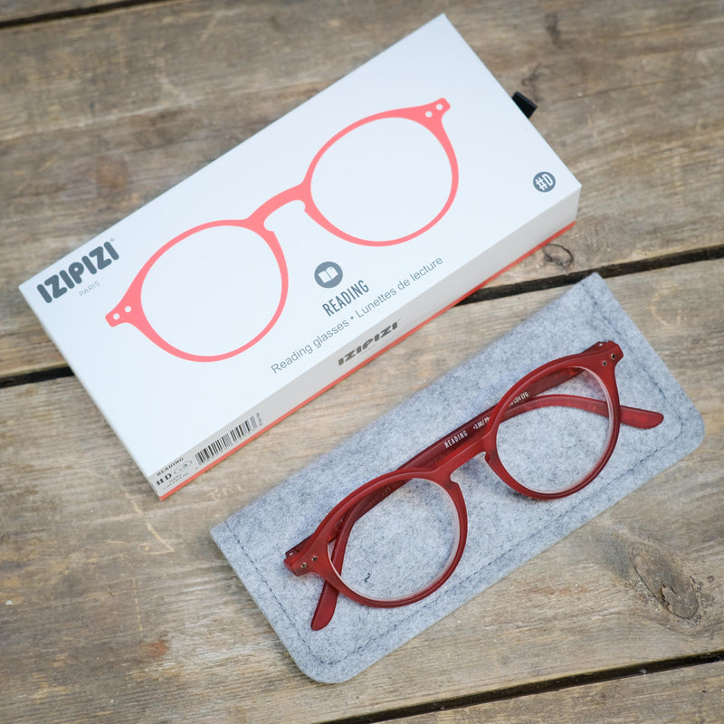 Snape Maltings Reading Glasses  Red +1.5