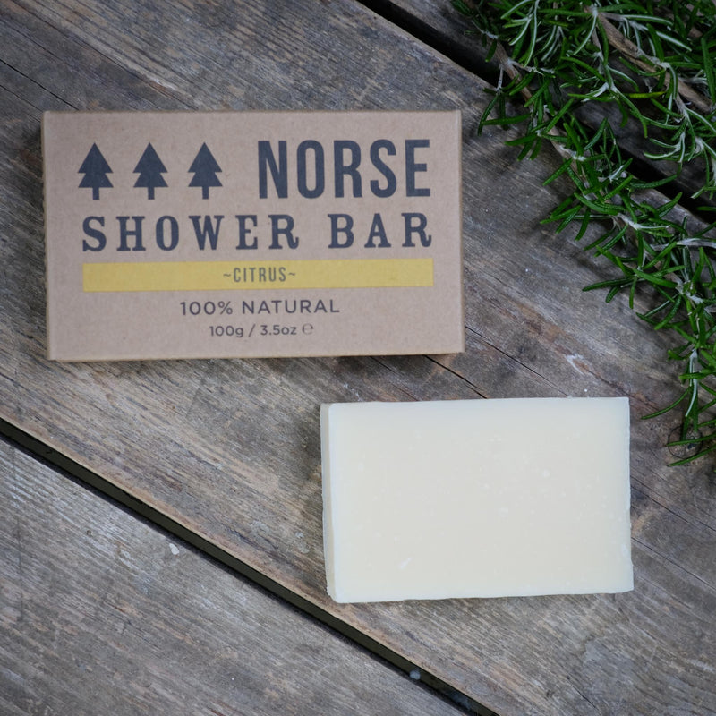 Snape Maltings Citrus Shower Bar