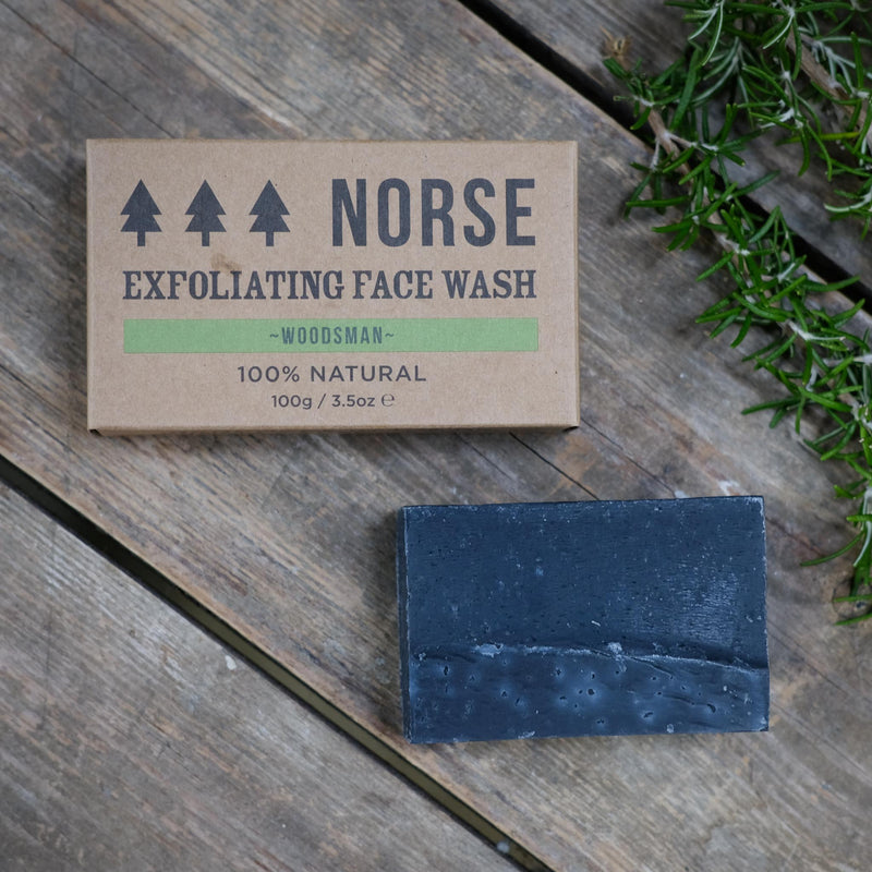 Snape Maltings Woodsman Exfoliating Face Wash