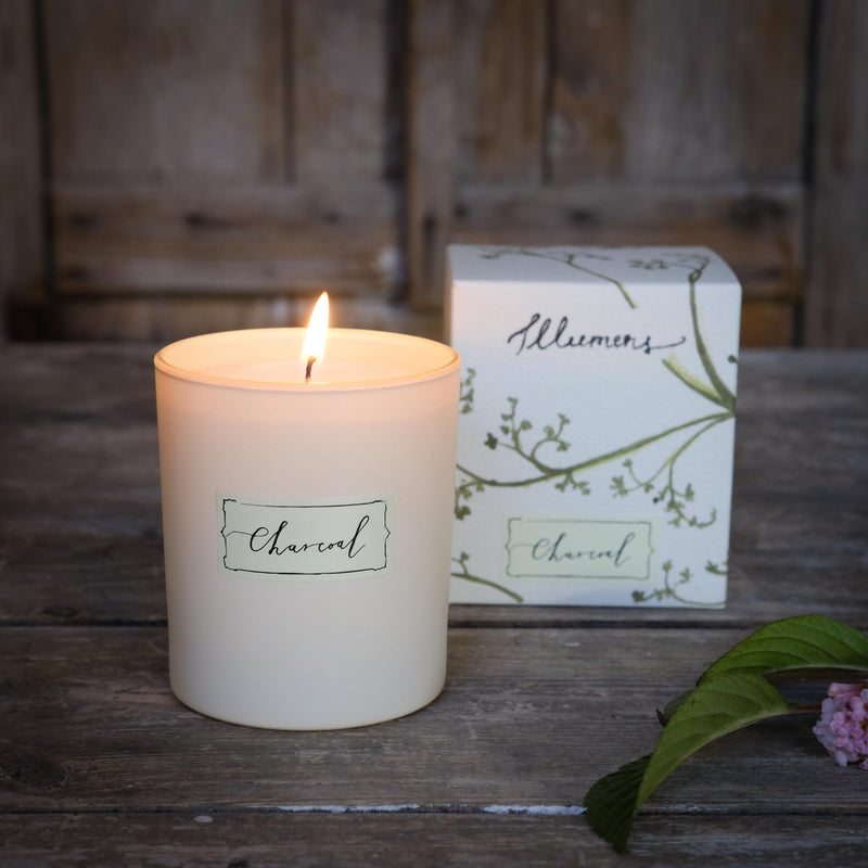 Snape Maltings Abbaye Charcoal Scented Candle
