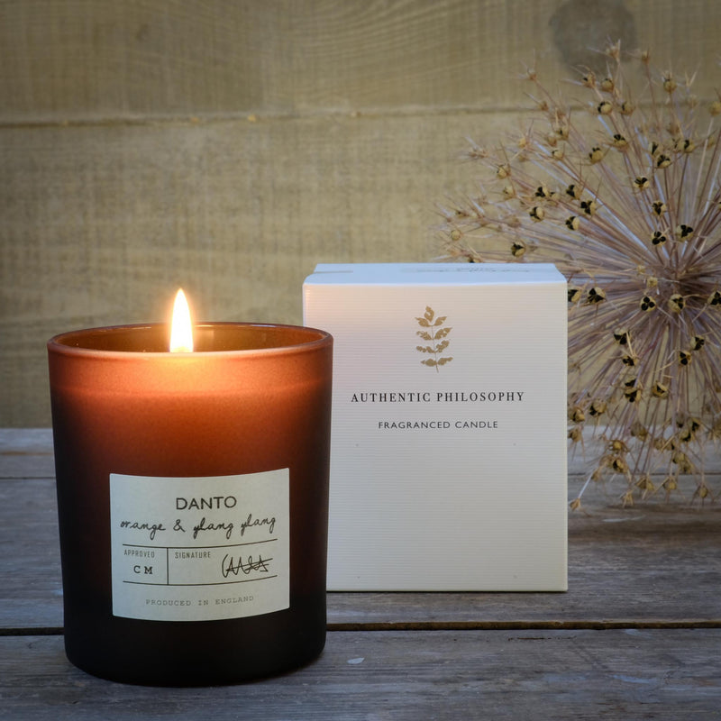 Snape Maltings Auntic Philosophy Orange & Ylang Ylang Scented Candle
