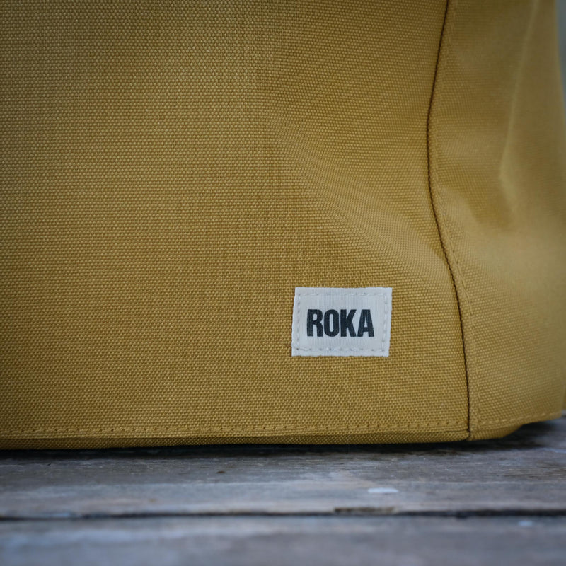 Sustainable Collection Small Finchley Bag in Flax Yellow