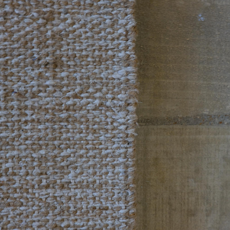 Snape Maltings Cream and Natural Aztec Design Rug 90cm x 150cm