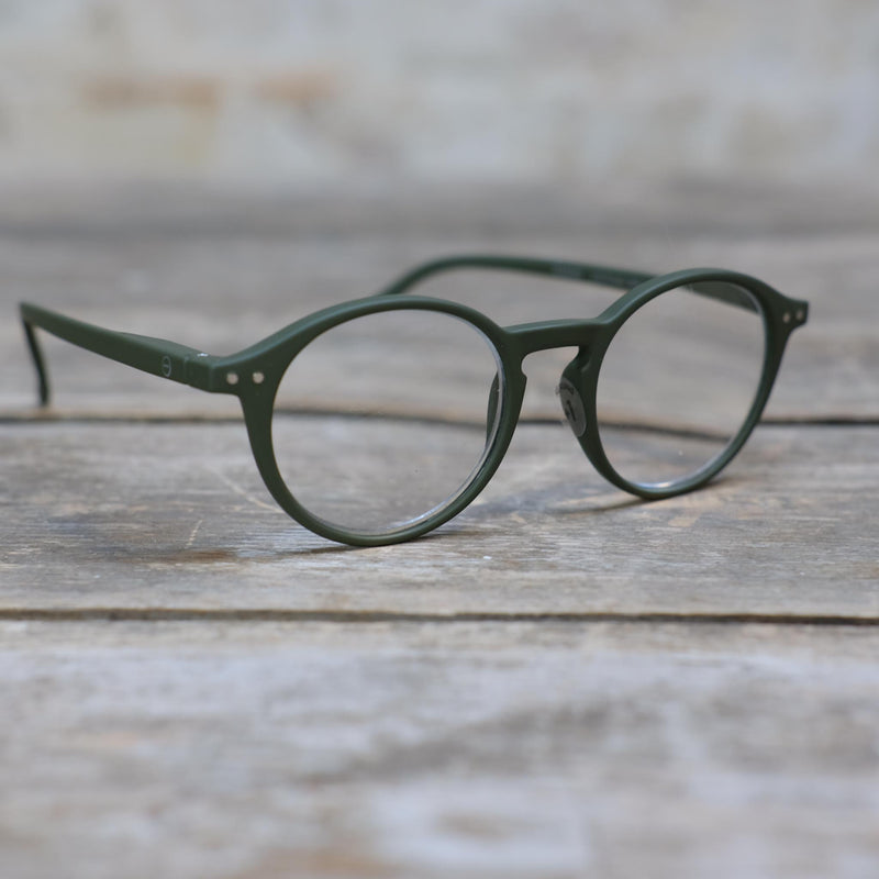 Snape Maltings Reading Glasses Kaki +1