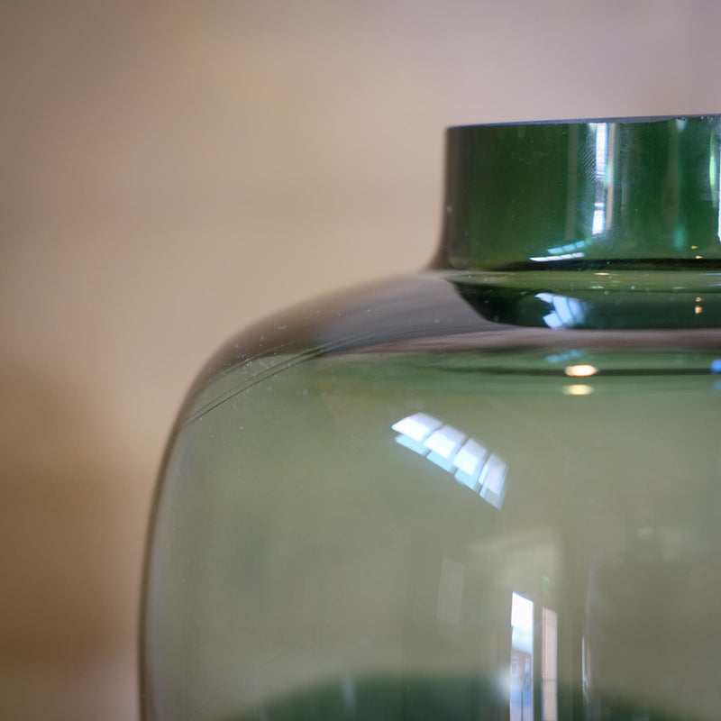 Snape Maltings Tall Glass Flow Vase