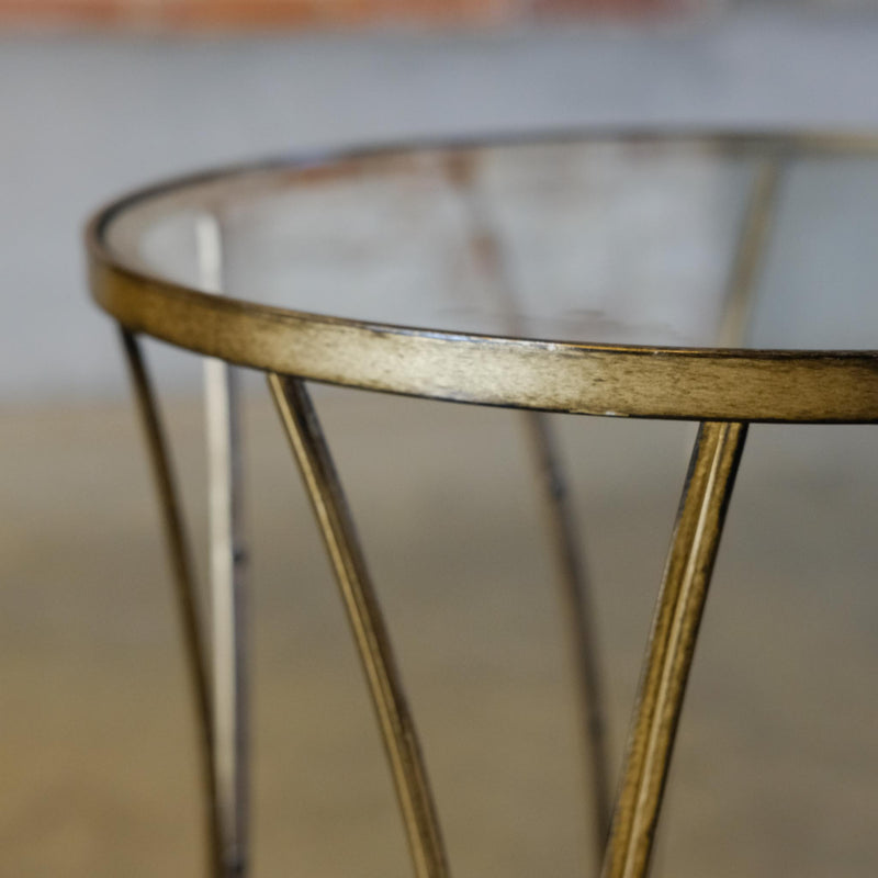 Snape Maltings Gold Scallop Table
