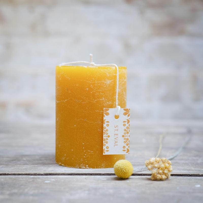 Snape Maltings Folk Amber Scented Pillar Candle