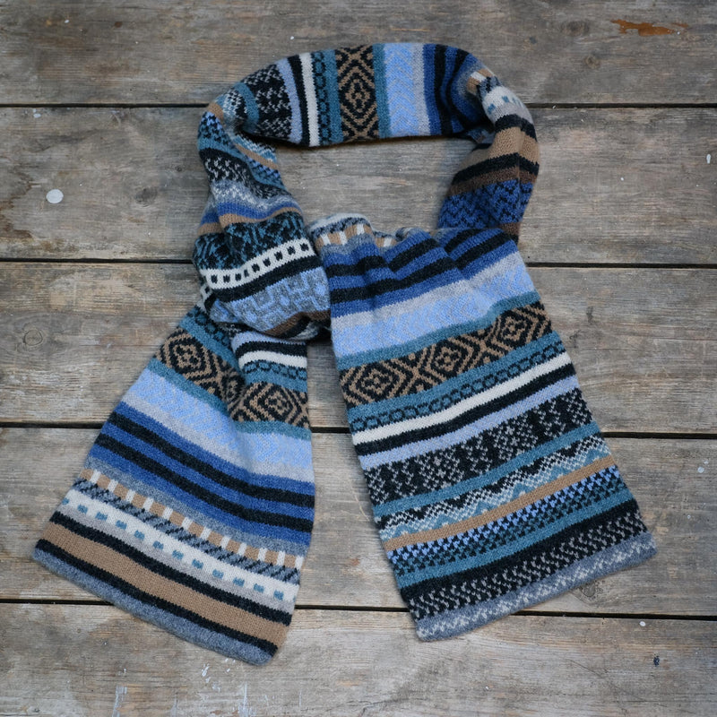 Snape Maltings Taransay Scarf in Umbra