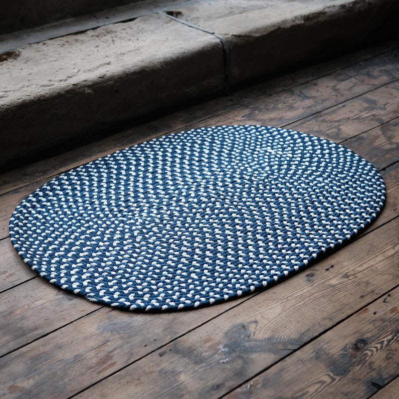 Eco Braid Midnight Rug 61cm x 92cm
