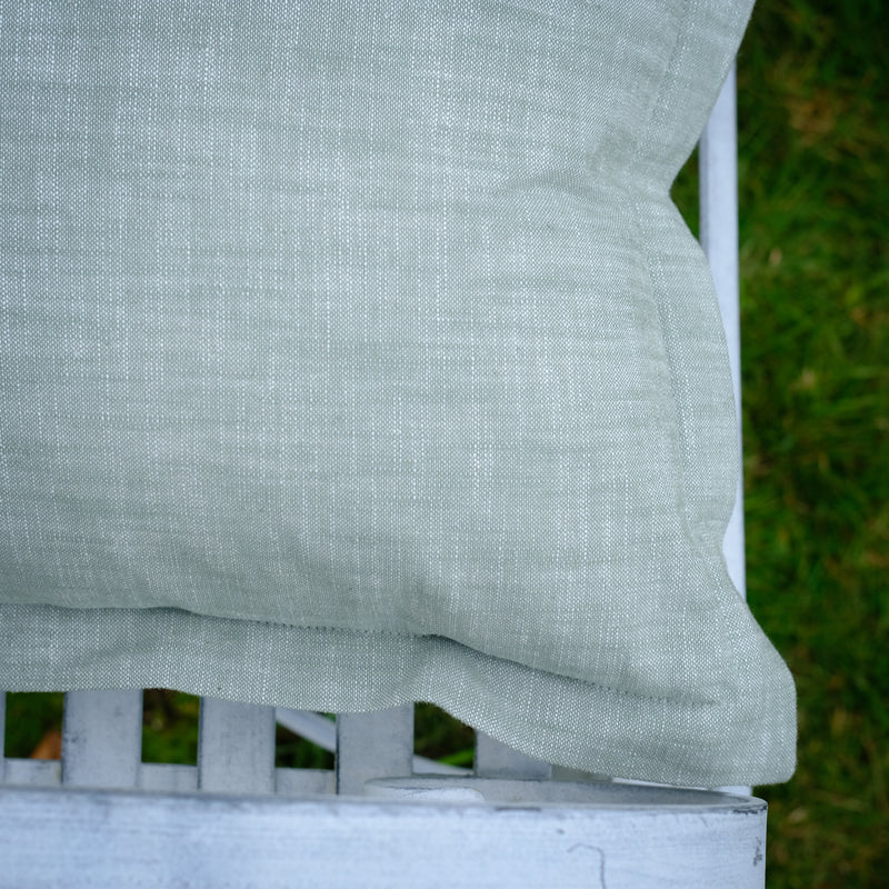 Sage Chambray Cushion
