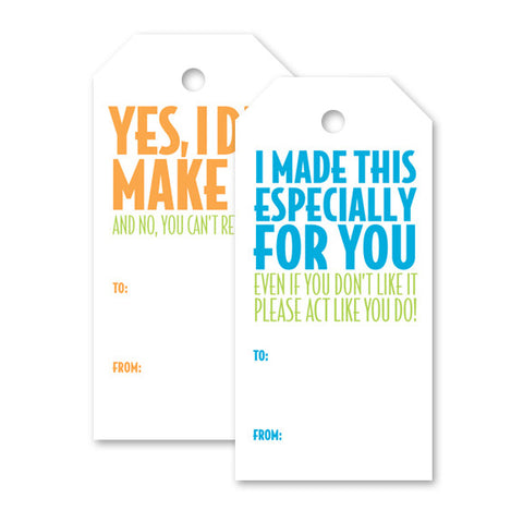 Humor Set 2, Gift Tag
