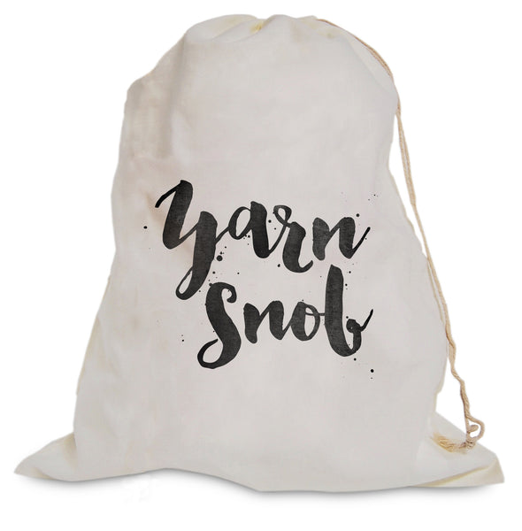 "Project Bag - ""Yarn Snob"""