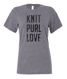 Short Sleeve Tee - Knit Purl Love