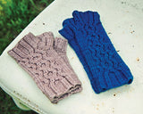Ripple Effect Fingerless Glove Pattern