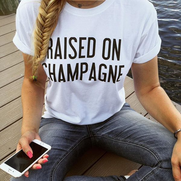 Raised on Champagne T-Shirt