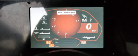 Megasquirt Digital Dash Megasquirt Dash Megasquirt Dashboard Digital Dash EFI DD-EFI